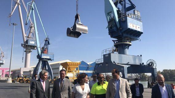 La ampliación de la Zona Franca de Sevilla reforzará la competitividad del Puerto y el empleo industrial