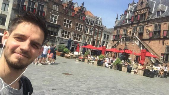 Pablo Rodríguez, el utrerano que estudia parte de su doctorado en Nijmegen