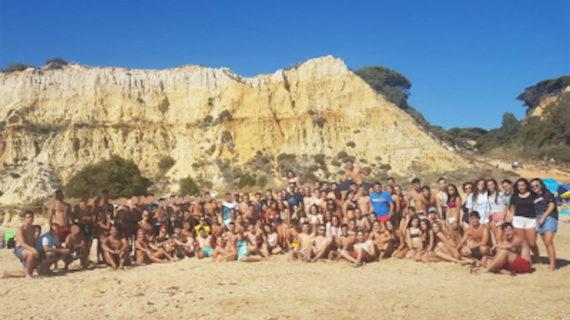 Jóvenes de Gines disfrutan de una jornada de convivencia de la Red de Pueblos por la Participación