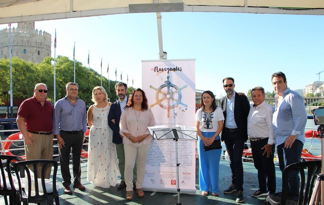 La Casa de las Columnas de Triana acoge la exposición 'Navegantes'