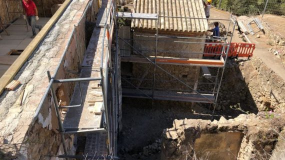 Avanzan a buen ritmo las obras del Molino Pintao de Montellano