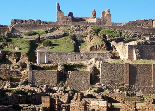 El enclave arqueológico de Munigua experimenta un incremento de visitas del 68,34%