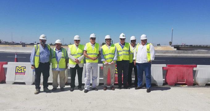 Las obras de la autovía entre Dos Hermanas y Alcalá están cerca del 90% de ejecución