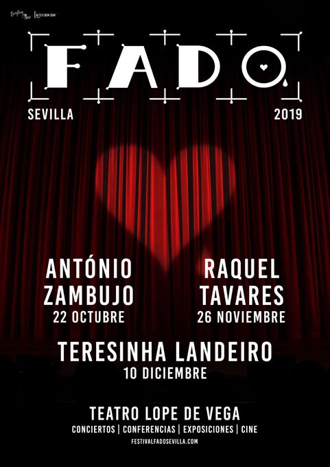 António Zambujo, Raquel Tavares y Teresinha Landeiro componen la programación del V Festival de Fado de Sevilla