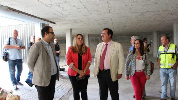 El nuevo aparcamiento de la calle Rafael Salgado abrirá el primer semestre de 2020