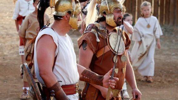 Gilena prepara su gran recreación en el VI festival Castra Legiones
