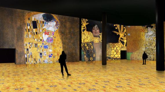 La magia de Gustav Klimt revive en Sevilla una innovadora exposición inmersiva