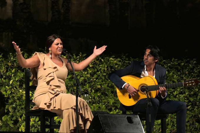 Actuación de Lela Soto. / Foto: Actidea.