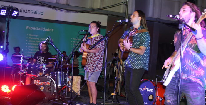 El grupo tomareño 'Los Tiestos' ganan el primer concurso de bandas Riofest