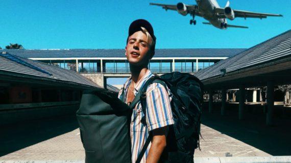 Rubén Avilés, un estudiante sevillano que lleva dos veranos lanzándose en busca de nuevas experiencias en el extranjero
