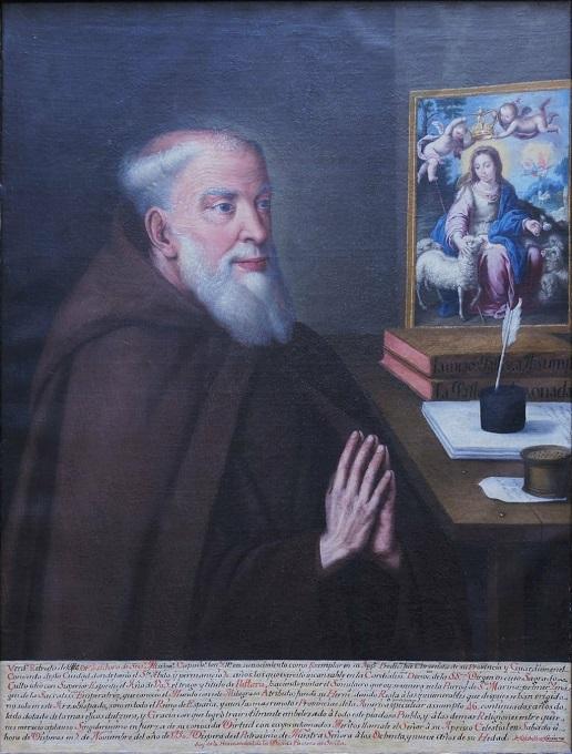 'Retrato de fray Isidoro de Sevilla', del pintor Muñoz Soriano.