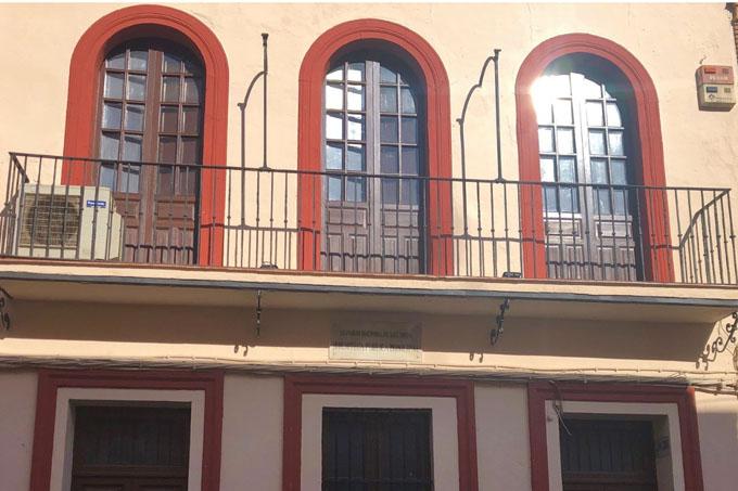 Edificio que albergará el futuro Museo de la Semana Santa de Alcalá.