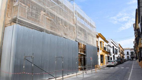 Iniciadas las obras de restauración de la Cilla del Cabildo de Osuna