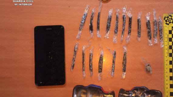 Desmantelado un punto de venta de drogas en la feria de Utrera