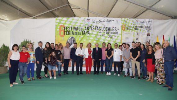 Castilleja de la Cuesta da el pistoletazo de salida al Festival de Artistas Locales y la Feria de la Tapa