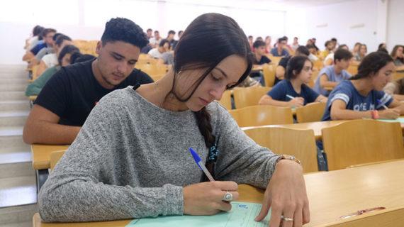Más del 72% de los estudiantes examinados en la convocatoria extraordinaria supera la Prueba de Acceso a la Universidad en la US
