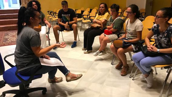Prácticas para diez personas con discapacidad intelectual en Arahal