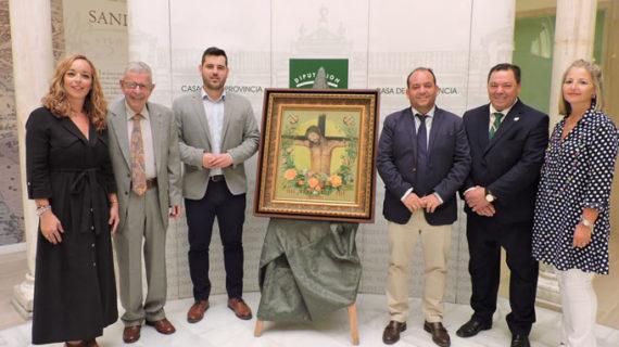 Un crucificado de Fausto Velázquez anuncia la salida extraordinaria de la Vera Cruz de La Algaba