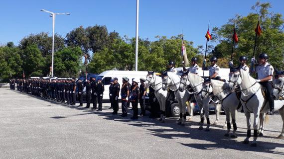 La Policía Nacional celebra el día de sus patronos, los Ángeles Custodios