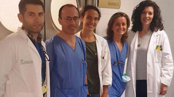 El Hospital Macarena utiliza la técnica de braquiterapia en el tratamiento del cáncer ocular que permite preservar el ojo