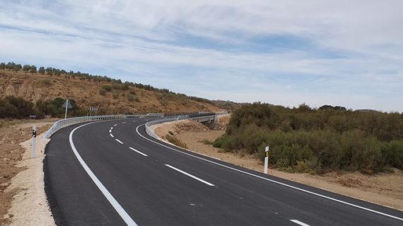 La A-378 se abre al tráfico tras finalizar las obras del puente de Martín de la Jara