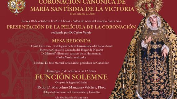 Columna y Azotes presenta la película de la coronación canónica de la Victoria en su primer aniversario