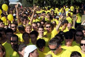 Nueva edición de la carrera solidaria 'Tus kilómetros nos dan vida'.