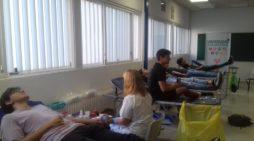 El Centro de Transfusiones de Sevilla participa en el #Reto5mil impulsado por la Red de Española de Universidades Saludables