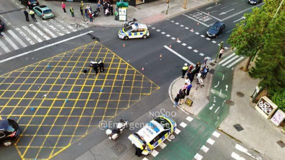 Detenido el conductor de un coche involucrado en la muerte de un motorista tras haber huido