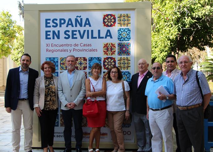 La Plaza Nueva acoge del 11 al 13 de octubre el XI Encuentro de Casas Regionales y Provinciales de Sevilla