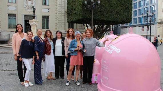 Comienza la campaña 'Recicla vidrio por ellas' con motivo del Día Mundial contra el Cáncer de Mama