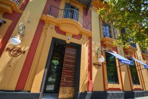 Fachada del Hard Rock Café Sevilla