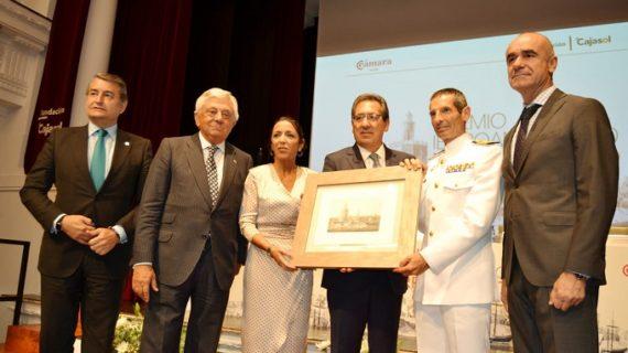 Reconocen al Buque-Escuela Juan Sebastián Elcano con el Premio Iberoamericano 'Torre del Oro'
