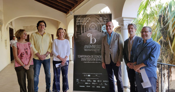 Grandes nombres de la escena celebran con la Orquesta Barroca de Sevilla su 25º aniversario en una nueva temporada