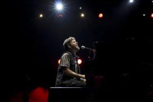 Concierto del cantante Pablo López.