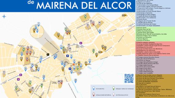 Editan un nuevo plano turístico de Mairena del Alcor