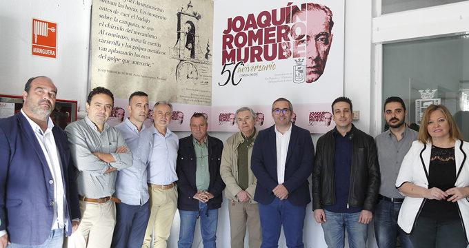 Los Palacios conmemora el 50 aniversario de la muerte del poeta Joaquín Romero Murube