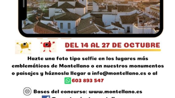 Concurso  #SelfienMontellano con motivo de la Semana Cultural