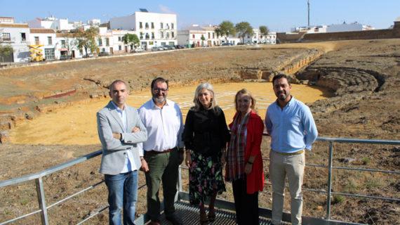 Cultura mejora la protección del Anfiteatro de Carmona