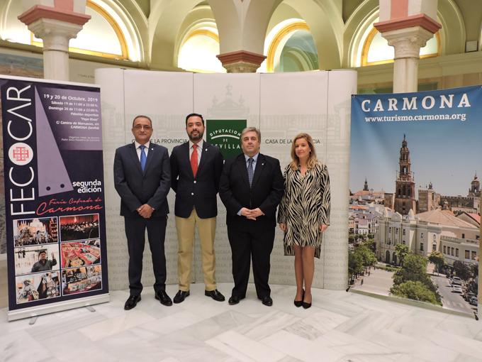 Carmona celebra la segunda edición de su Feria Cofrade