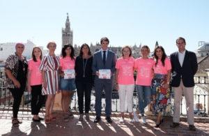 Presentación de la XIII Carrera de la Mujer.