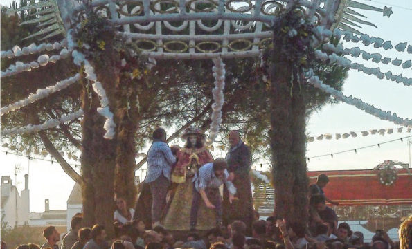 Los rocieros tomareños se reencontrarán con la Blanca Paloma en Almonte