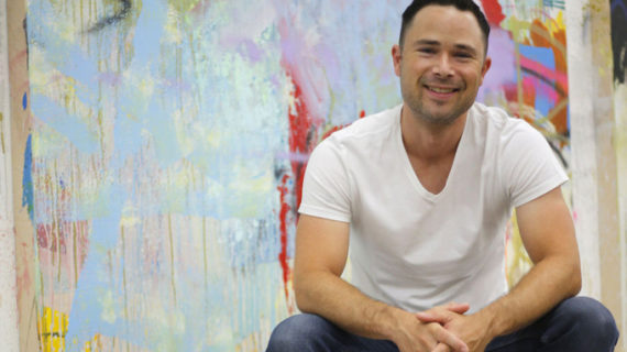 El artista americano Alex Brewer elige Sevilla para exponer su obra por primera vez en España