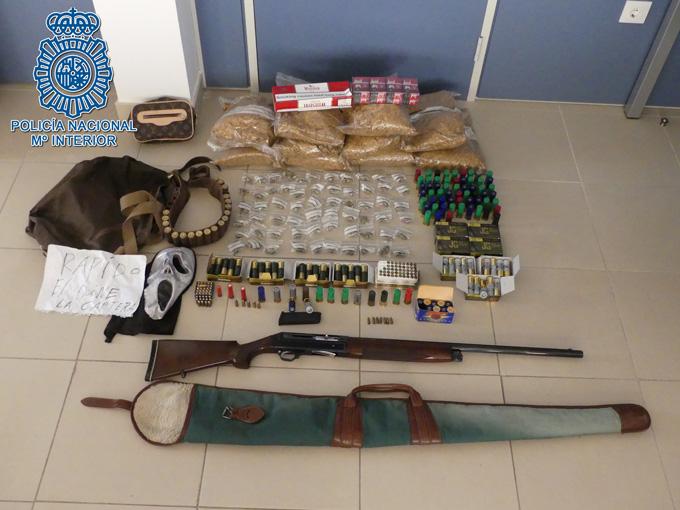 Detenido un atracador que asaltó con una escopeta un establecimiento comercial en Écija