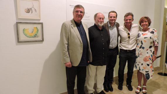 El pintor José María Godoy llena de 'Momentos y Travesías' la Casa de la Provincia