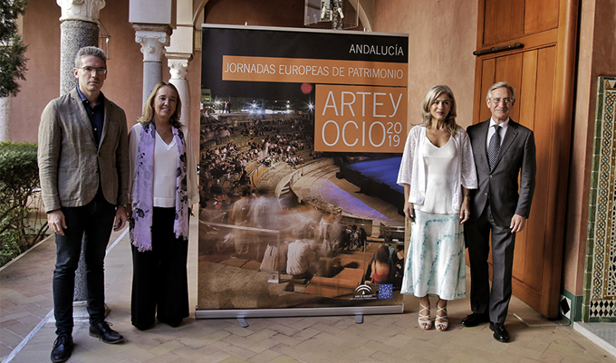 Gladiadores vuelven a combatir en Itálica con motivo de las Jornadas Europeas de Patrimonio