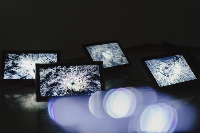 La Sala Atín Aya acoge la exposición 'Fenómenos' de la artista Marina Núñez