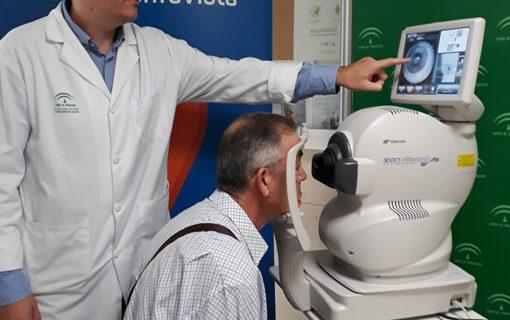 El Hospital de Valme celebra el Día Mundial de la Visión adhiriéndose a una innovadora campaña de concienciación