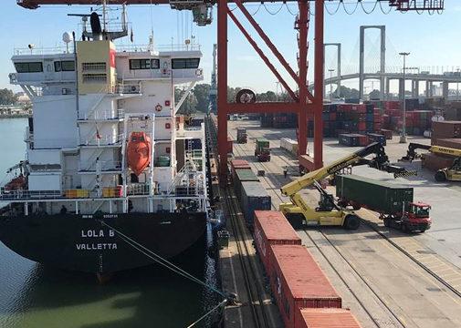 El Puerto de Sevilla lidera un proyecto europeo de innovación para integrar el transporte marítimo y terrestre