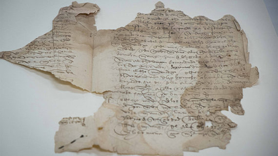 Aprueban la restauración del testamento de Fernando de Magallanes